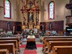 Kostel Nanebevzetí Panny Marie Nová Ves